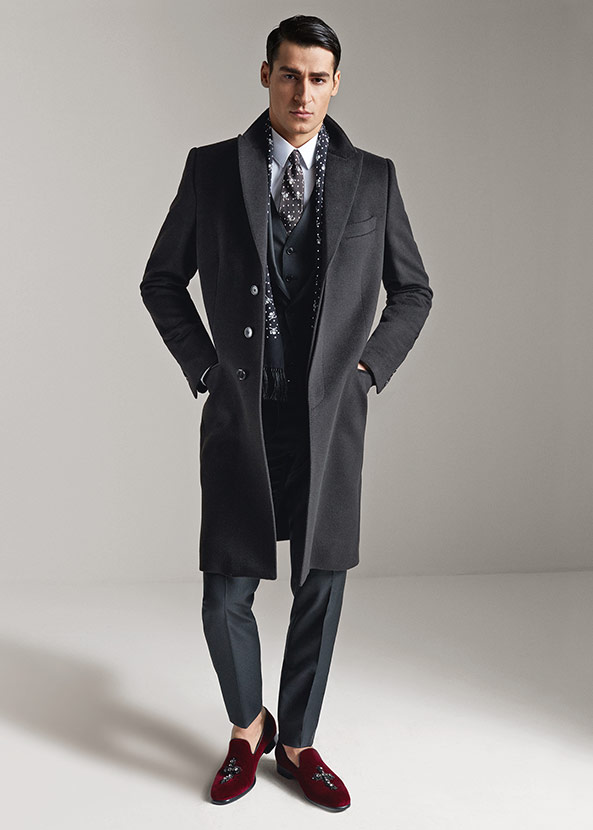 Dolce & Gabbana Fall/Winter 2015 Menswear Collection Champions Everyday Elegance