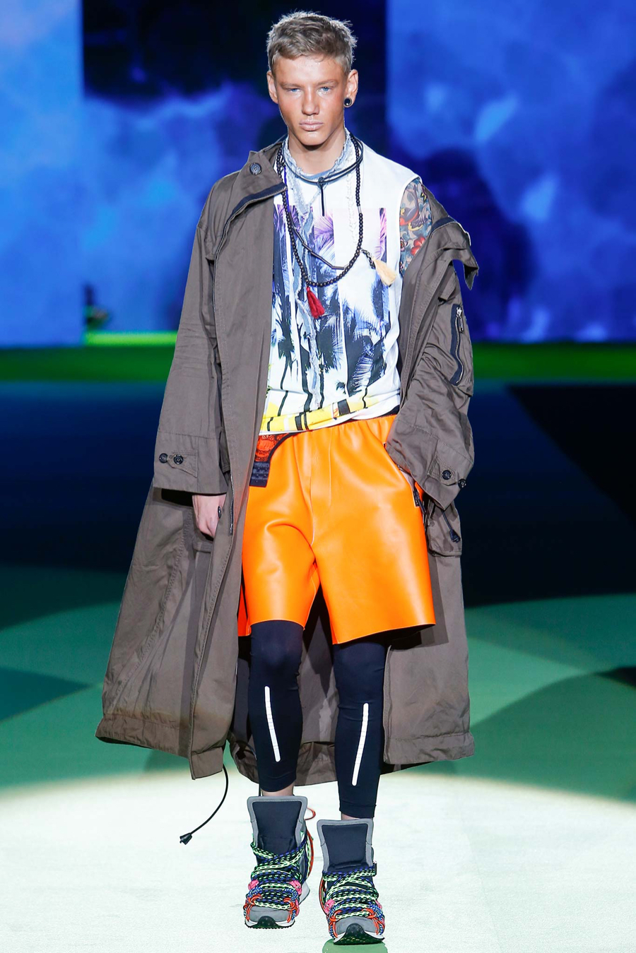 Dsquared2 spring summer 2016 menswear collection milan for Milan show 2016