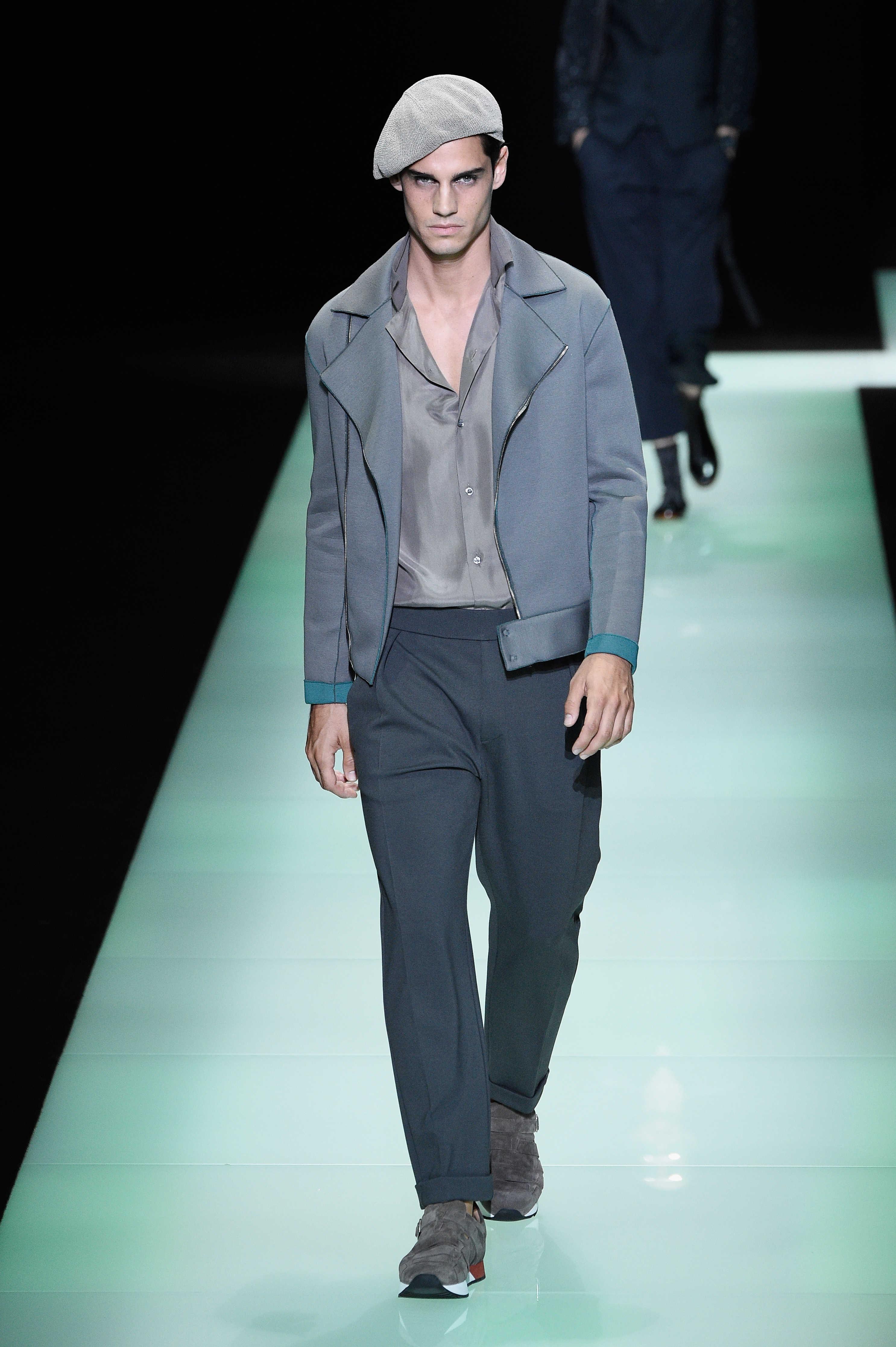 9a95540351f Emporio Armani Spring Summer 2016 Menswear Collection