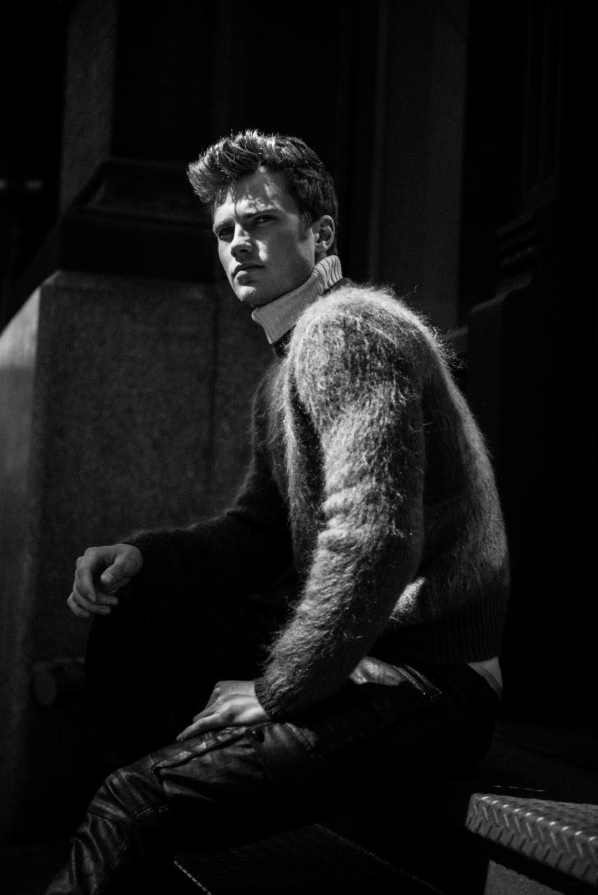 Exclusive: Bobby Rake Models Belstaff Fall 2015 Looks for Sarah Kjelleren Shoot