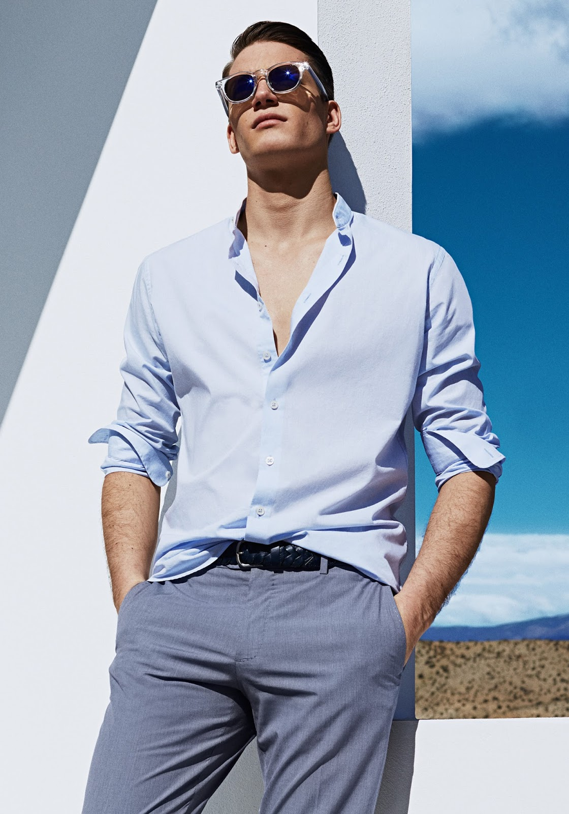 Florian Van Bael Is A Summer Vision For Mango The