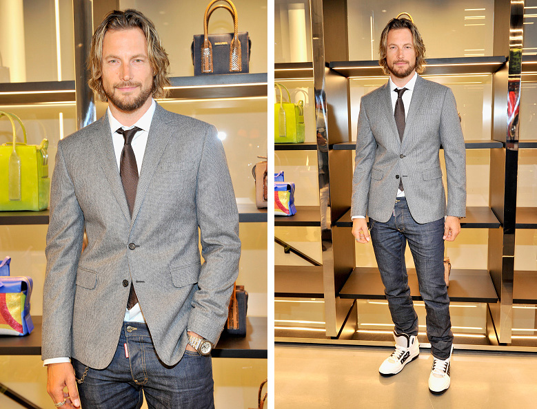 Gabriel Aubry, Jesse Metcalfe Clad in Dsquared2 for Private Cocktail