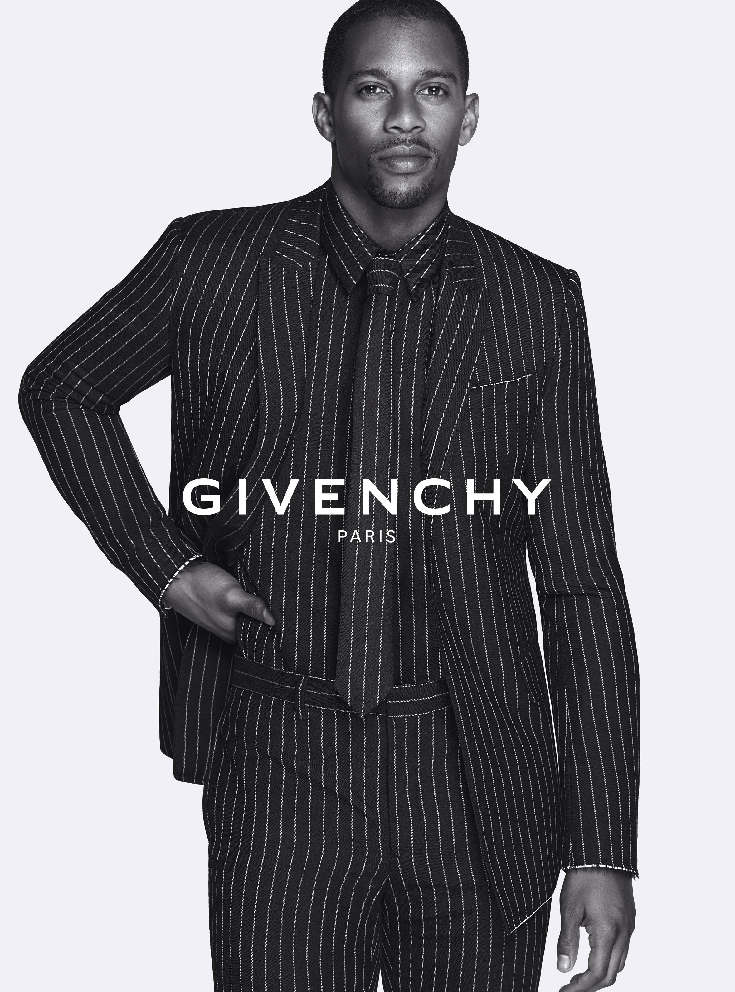 Victor Cruz Fronts Givenchy Fall/Winter 2015 Campaign
