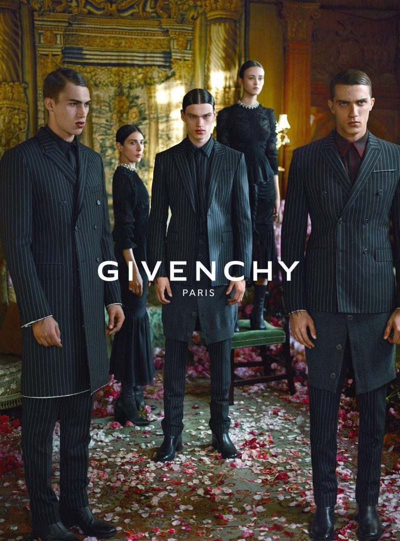 Givenchy's fall-winter 2015 advertising campaign, shot by Mert & Marcus.
