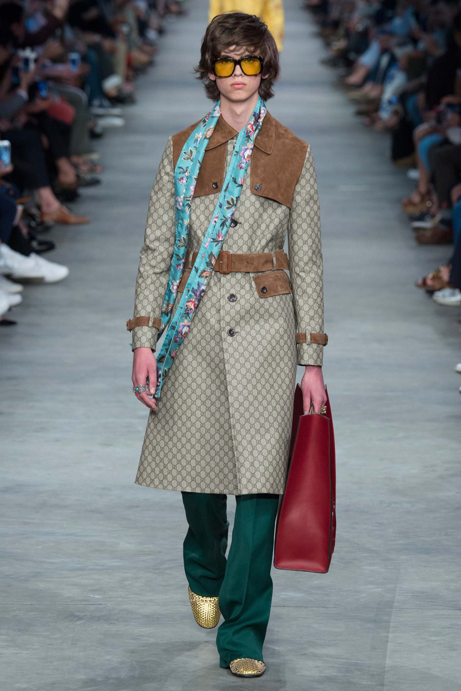 Preferenza Gucci Spring/Summer 2016 Menswear Collection | Milan Fashion Week OA46