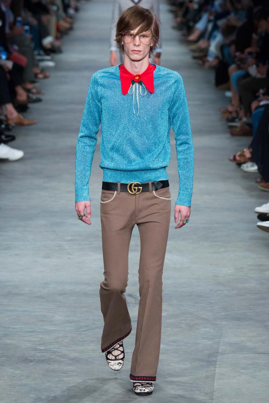 Gucci Spring/Summer 2016 Menswear Collection | Milan Fashion Week