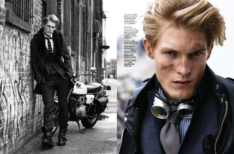 Harry Goodwins is 'The Drifter' for August Man Fashion Editorial