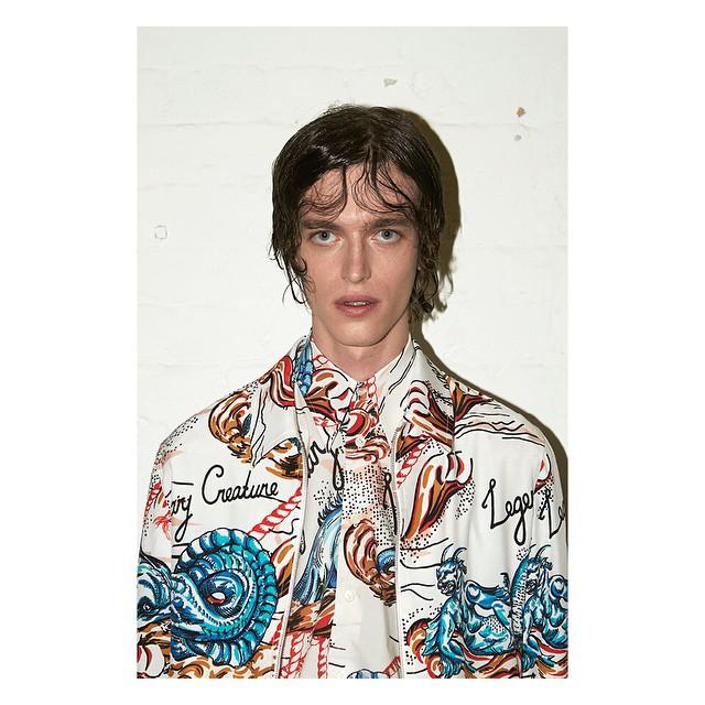Reuben Ramacher shows of Alexander McQueen's decadent prints for spring-summer 2016.