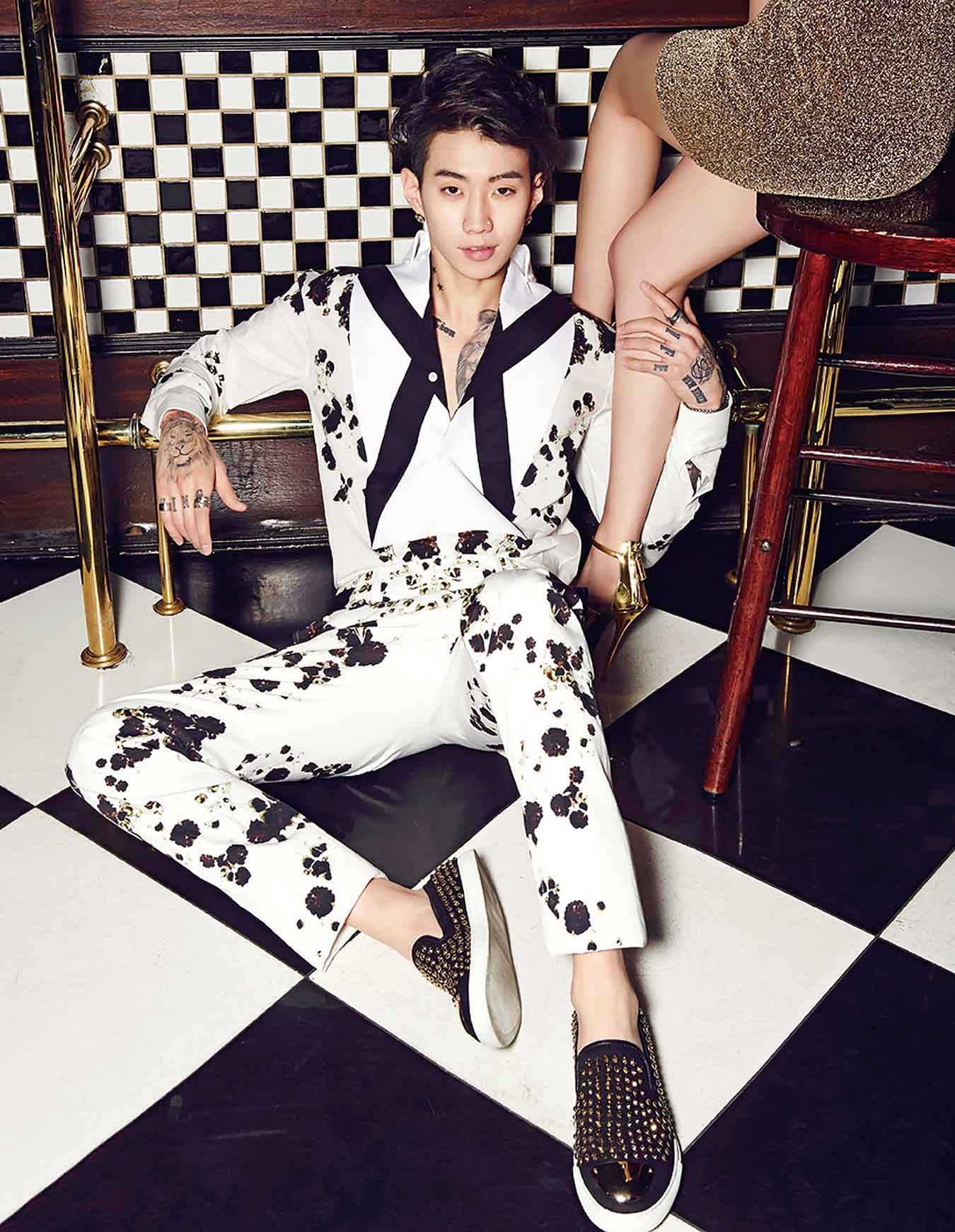 High Fashion Magazines: Jay Park Goes High Fashion For InStyle Korea Photo Shoot