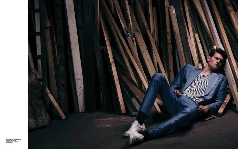 John Todd Stars in Apollo Fashion Spread