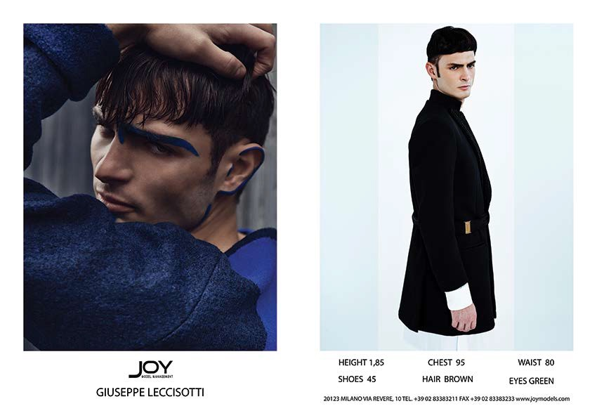 Joy Model Management Spring/Summer 2016 Show Package