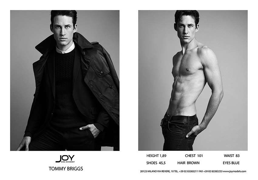 Joy Model Management Spring/Summer 2016 Show Package