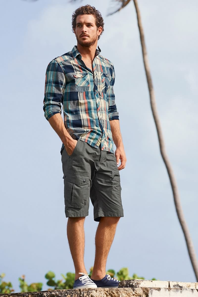 Justice Joslin Goes Casual In Summer Styles For Next