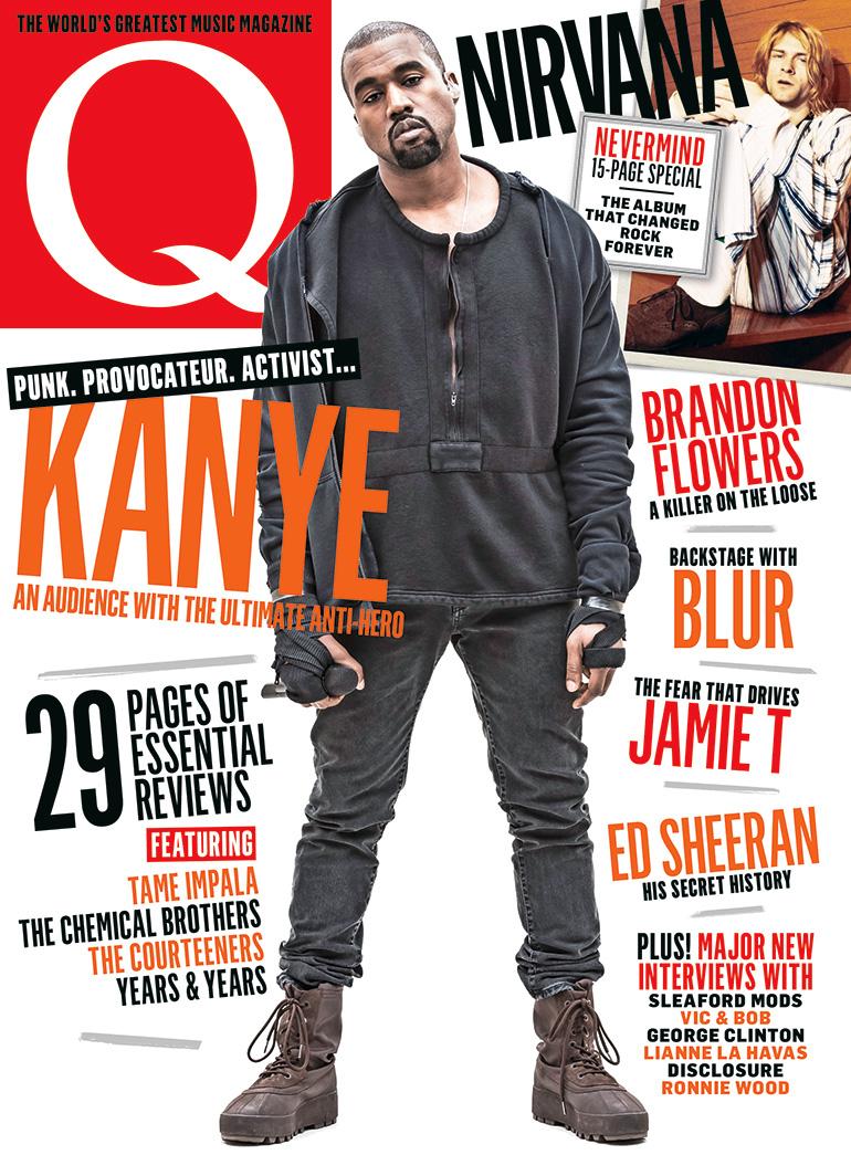 Kanye West covers Q magazine