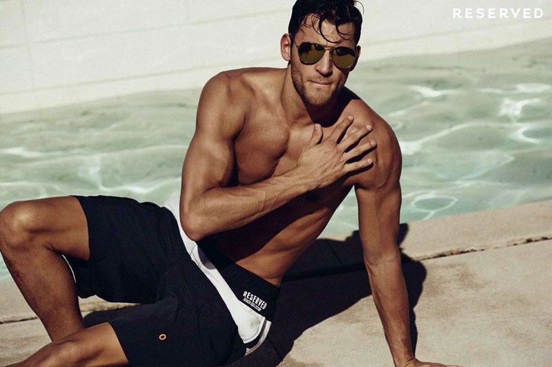 Kevin Sampaio Visits Palm Springs For Reserved Summer 2015