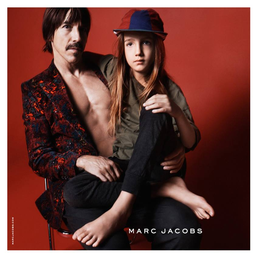 Anthony Kiedis Fronts Marc Jacobs Fall/Winter 2015 Campaign