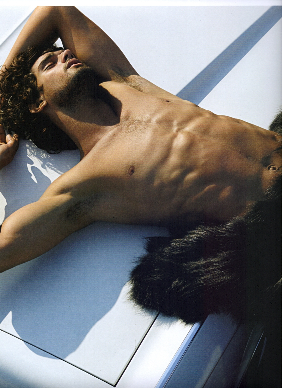 Marlon Teixeira is Exposed for Made in Brazil Shoot