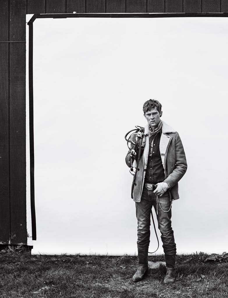 Mathias Lauridsen Goes Western for Men's Week Shoot