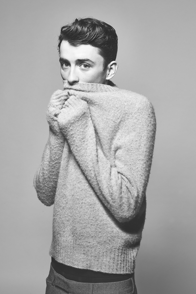 Matthew Beard wears all clothes Tom Ford.