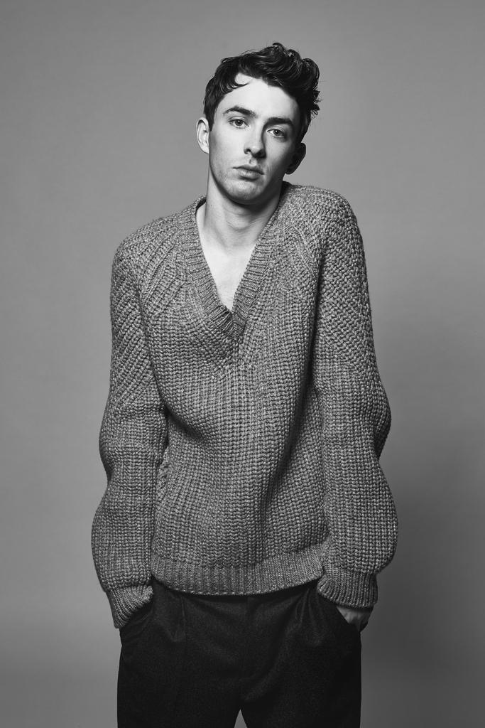 Matthew Beard Poses for WWD Photo Shoot, Talks 'Skylight' + New York City