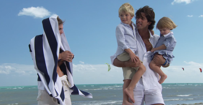 Father's Ralph With For Nacho Figueras The Family Lauren Hits Beach TKJclF1