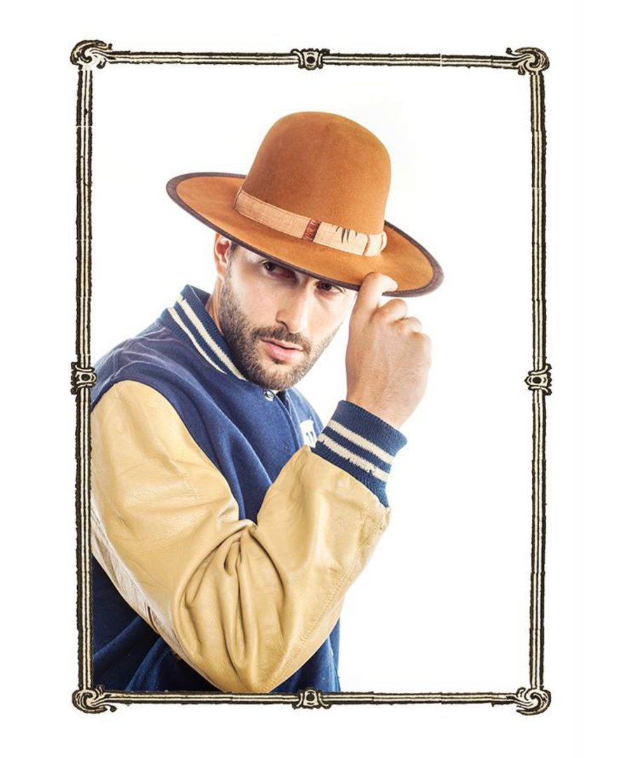 0f30689c92dafb Noah Mills Models Nick Fouquet 2015 Hat Styles | The Fashionisto