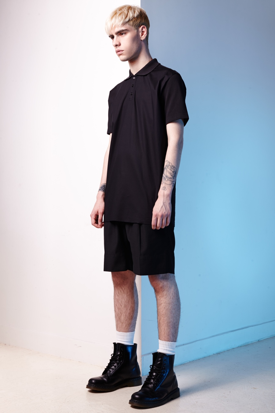 Jonathan Bauer-Hayden Goes Sporty in Not Guilty Homme Spring/Summer 2016 Collection