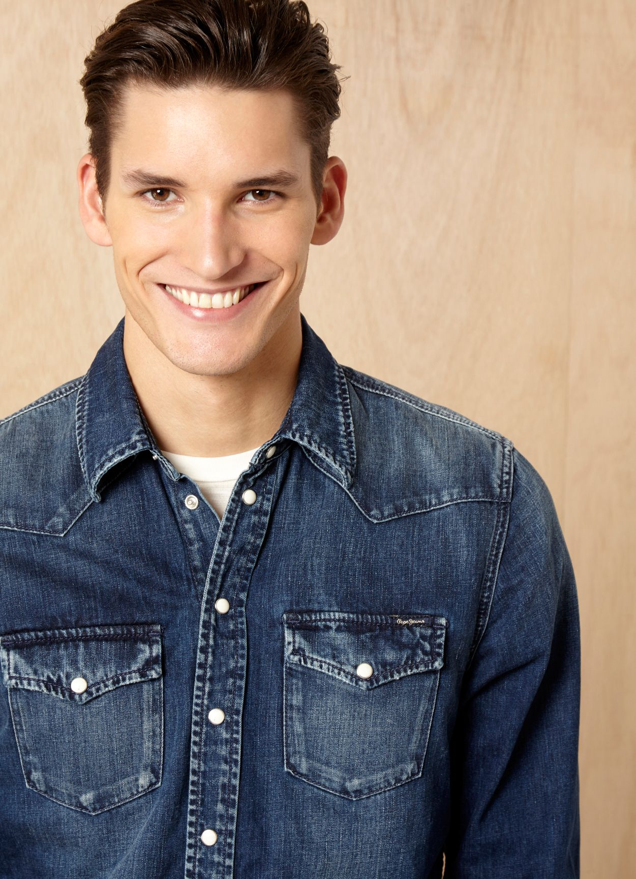 Dominik Bauer Goes Casual for Pepe Jeans