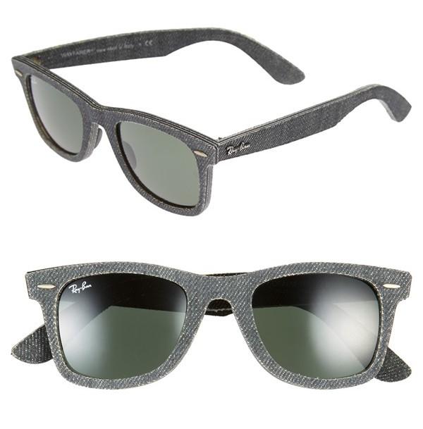 554b9d570a5 Nick Jonas Spotted in Ray-Ban Wayfarer Sunglasses + Rag   Bone ...