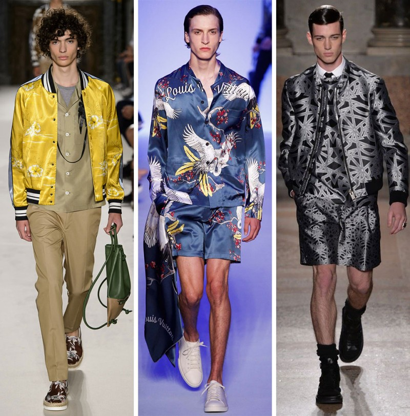 Left to Right: Valentino, Louis Vuitton, Les Hommes