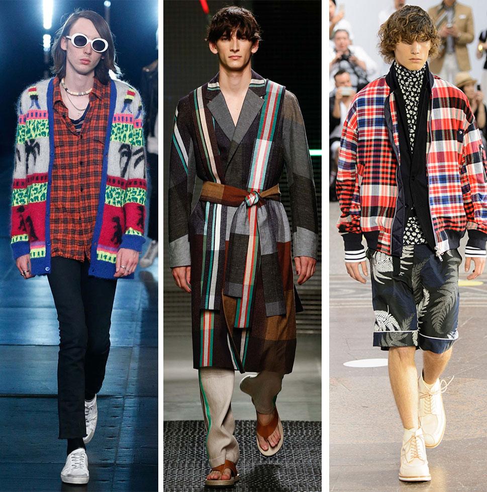Spring/Summer 2016 Menswear Trends from Milan + Paris Fashion Week