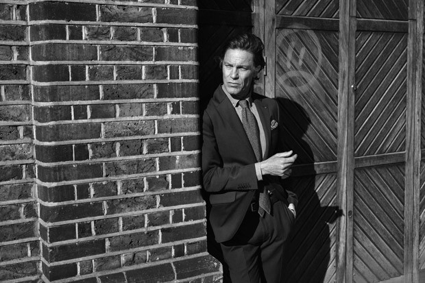 Andre Van Noord is a Snazzy Dresser for The Tailoring Club Fall/Winter 2015 Campaign
