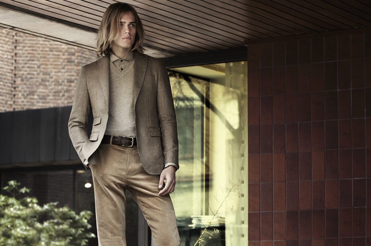 Ton Heukels Embraces Earthy Hues for Chic King Shoot