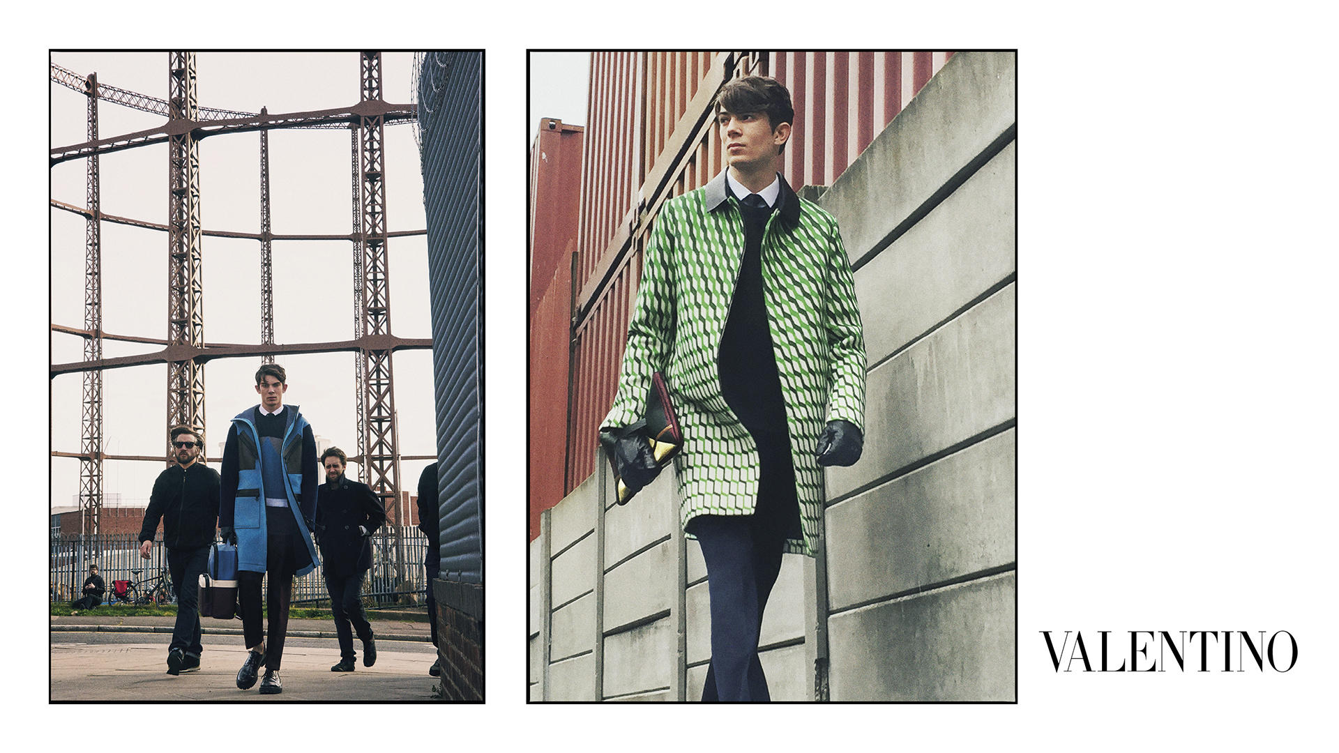 Valentino Fall/Winter 2015 Men's Campaign Shot in East End, London