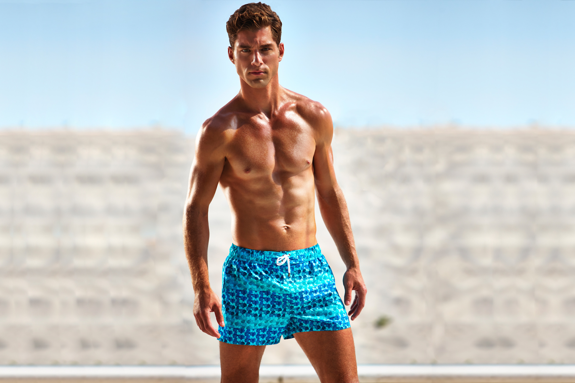 André Ziehe Models Swimwear for 2(X)IST Summer 2015 Campaign