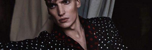 Alexander Vander Stichele Dons Silk Robes for GQ China