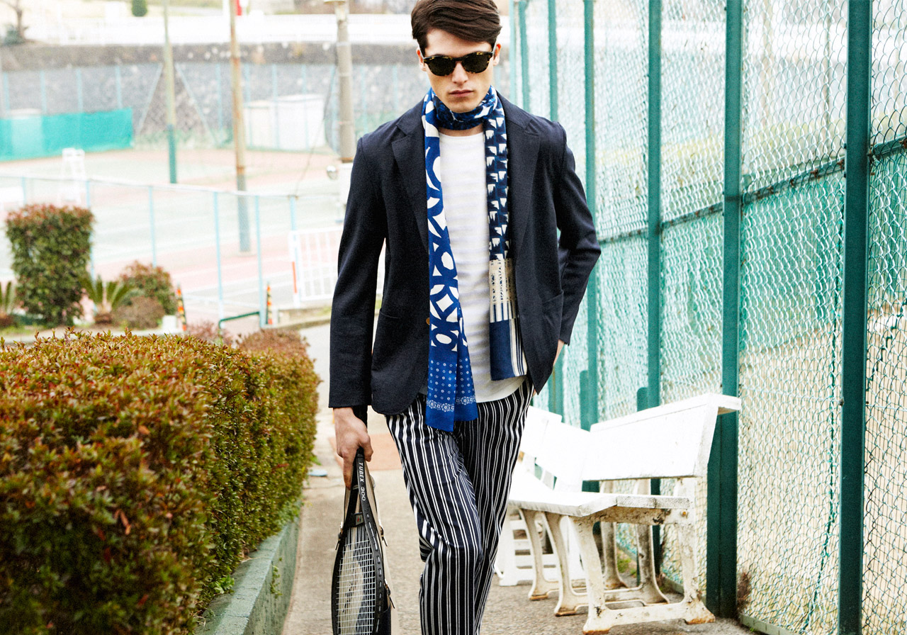 Arthur Daniyarov Hits the Tennis Court in Chic Summer Styles