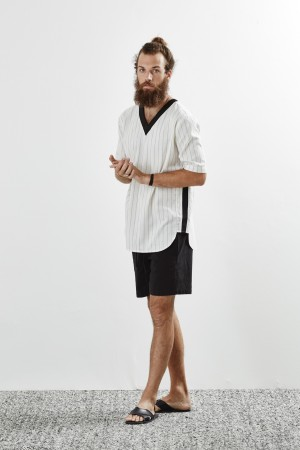 Baldwin Gets the European Treatment for Spring/Summer 2016 Menswear Collection