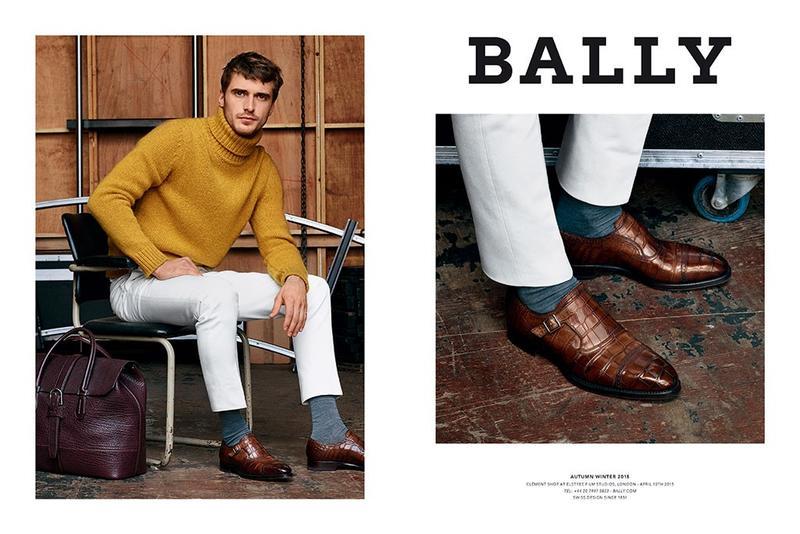 Bally Fall/Winter 2015 Menswear Campaign: Clément Chabernaud by Alasdair McLellan