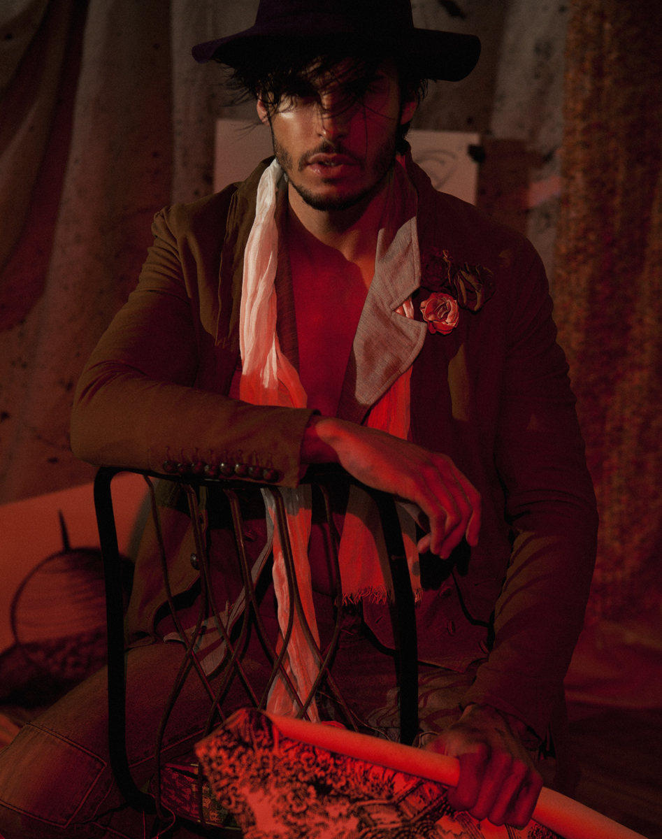 Baptiste Giabiconi Stars in Flaunt Cover Shoot