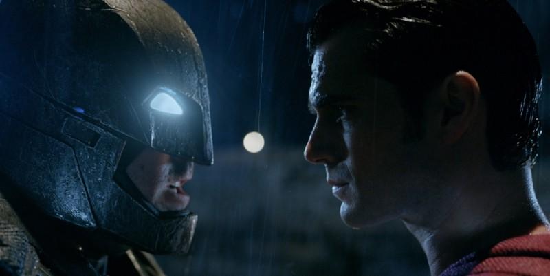 Batman (Ben Affleck) and Superman (Henry Cavill) in Batman v Superman: Dawn of Justice
