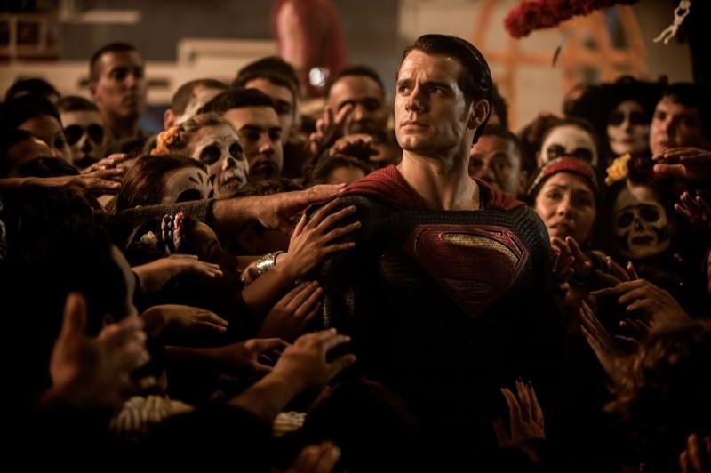Superman (Henry Cavill) in Batman v Superman: Dawn of Justice