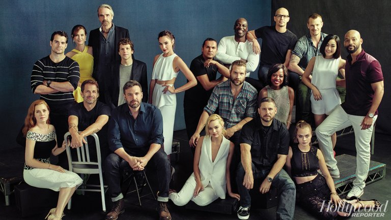 'Batman v Superman' + 'Suicide Squad' Casts Come Together for Photos