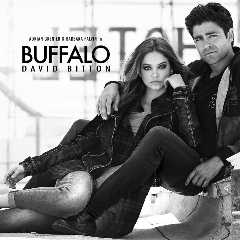 Adrian Grenier Joins Barbara Palvin for Buffalo David Bitton Fall/Winter 2015 Campaign