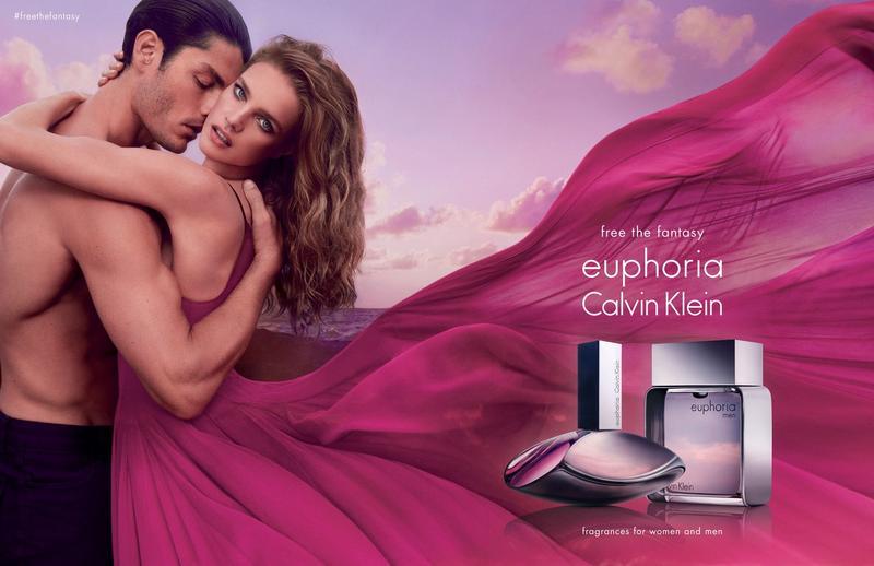 Tyson Ballou Appears in Calvin Klein Euphoria Fragrance Campaign