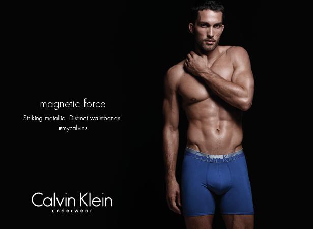 Tobias Sorensen Poses for Calvin Klein Underwear