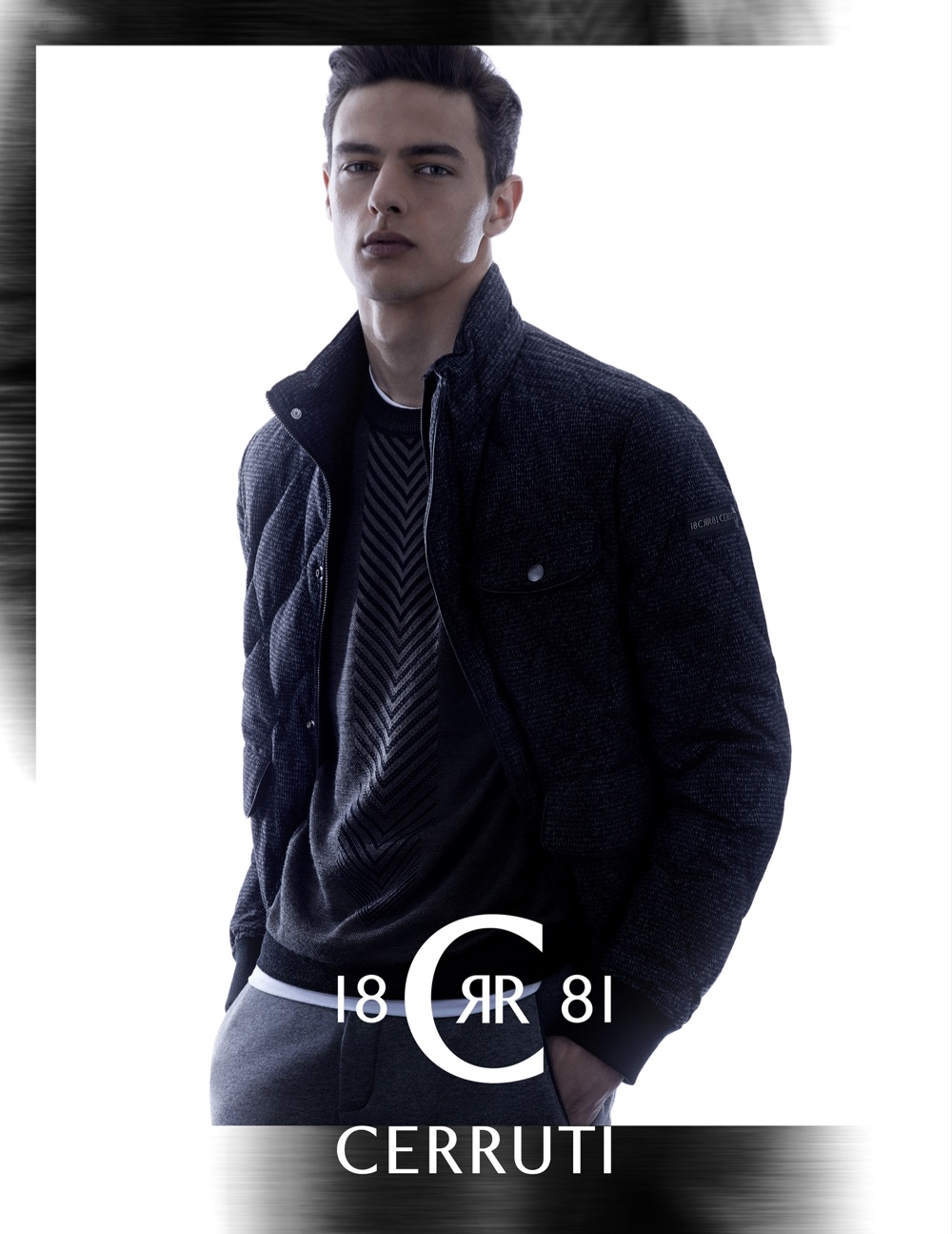 Cerruti 1881 Fall/Winter 2015 Menswear Campaign Featuring Hannes Gobeyn