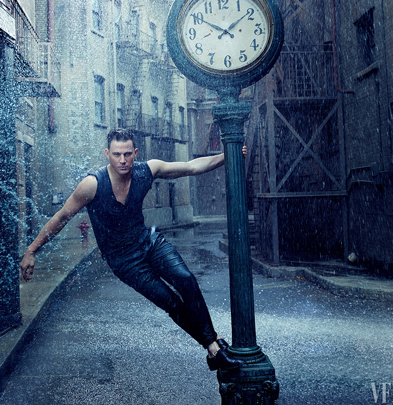 Channing Tatum Covers August 2015 Vanity Fair + Vogues in New Video