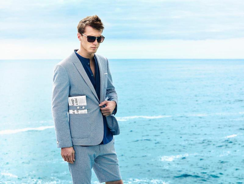 Clément Chabernaud Embraces Selected Summer Style