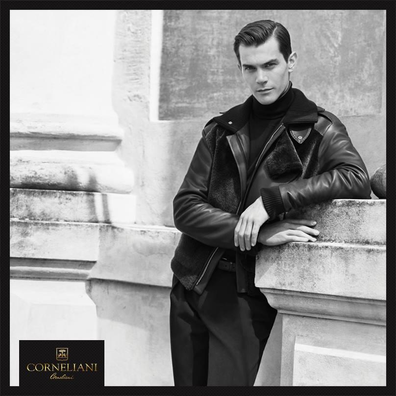 Corneliani Fall/Winter 2015 Campaign Stars Vincent LaCrocq